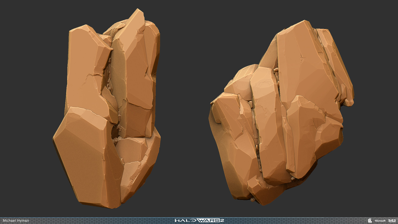 Sculpts for some of the halo refugia style rocks.
