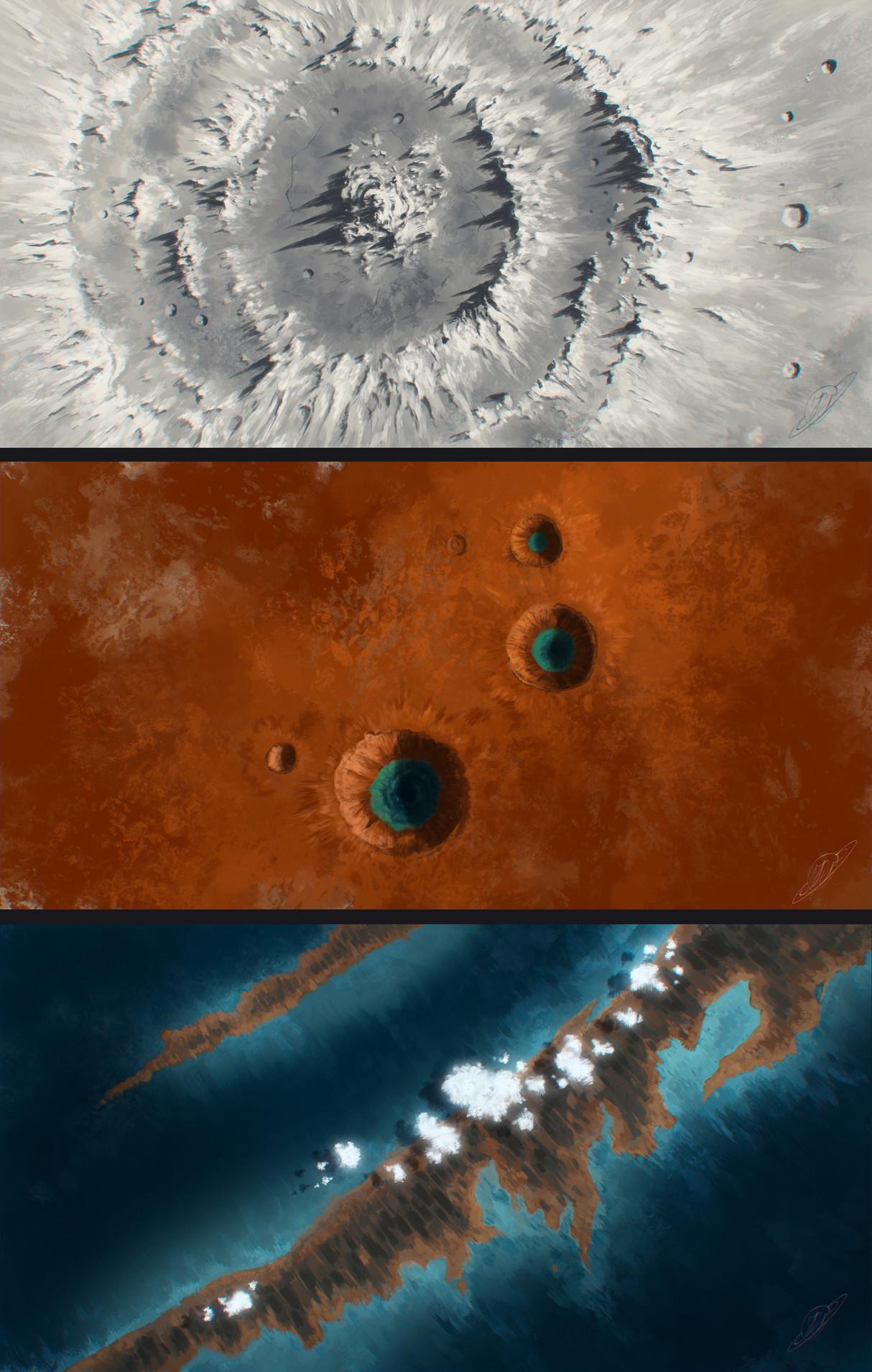 ArtStation - Planet textures, Justinas Vitkus