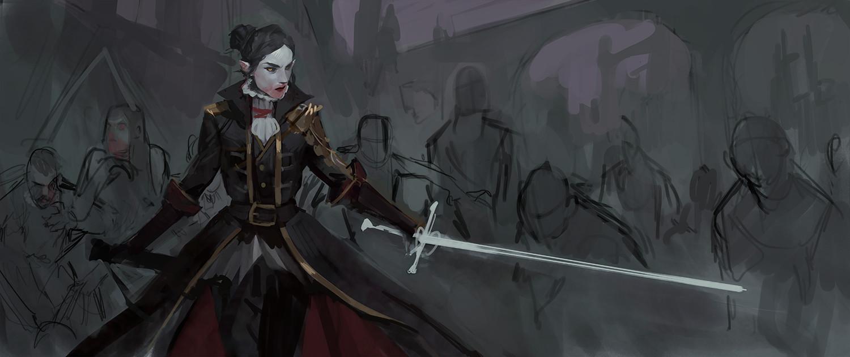 Benjamin ee vampire swordmaster 2
