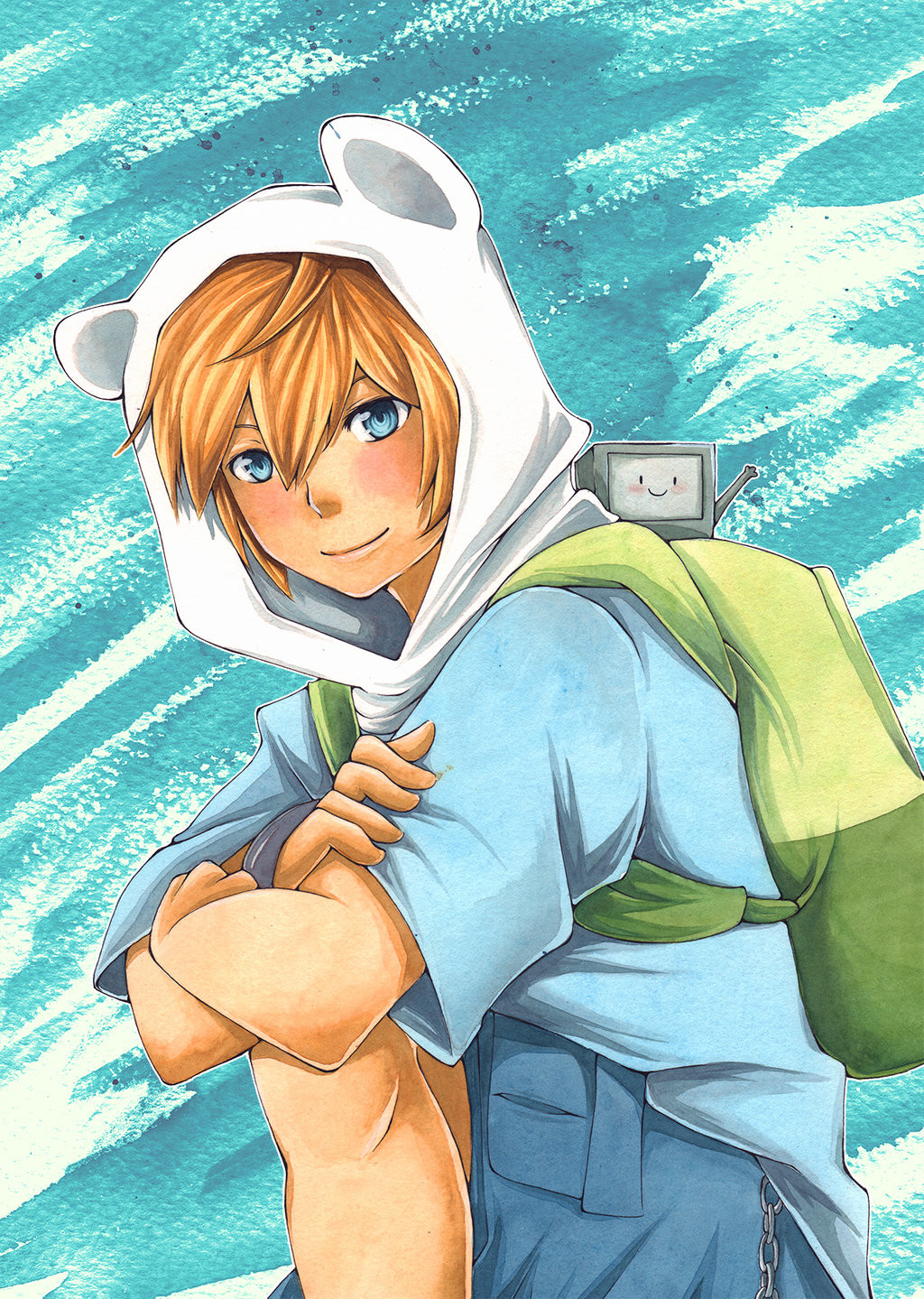 Anime Adventure Time Pictures maria rosa cañadell - adventure time finn