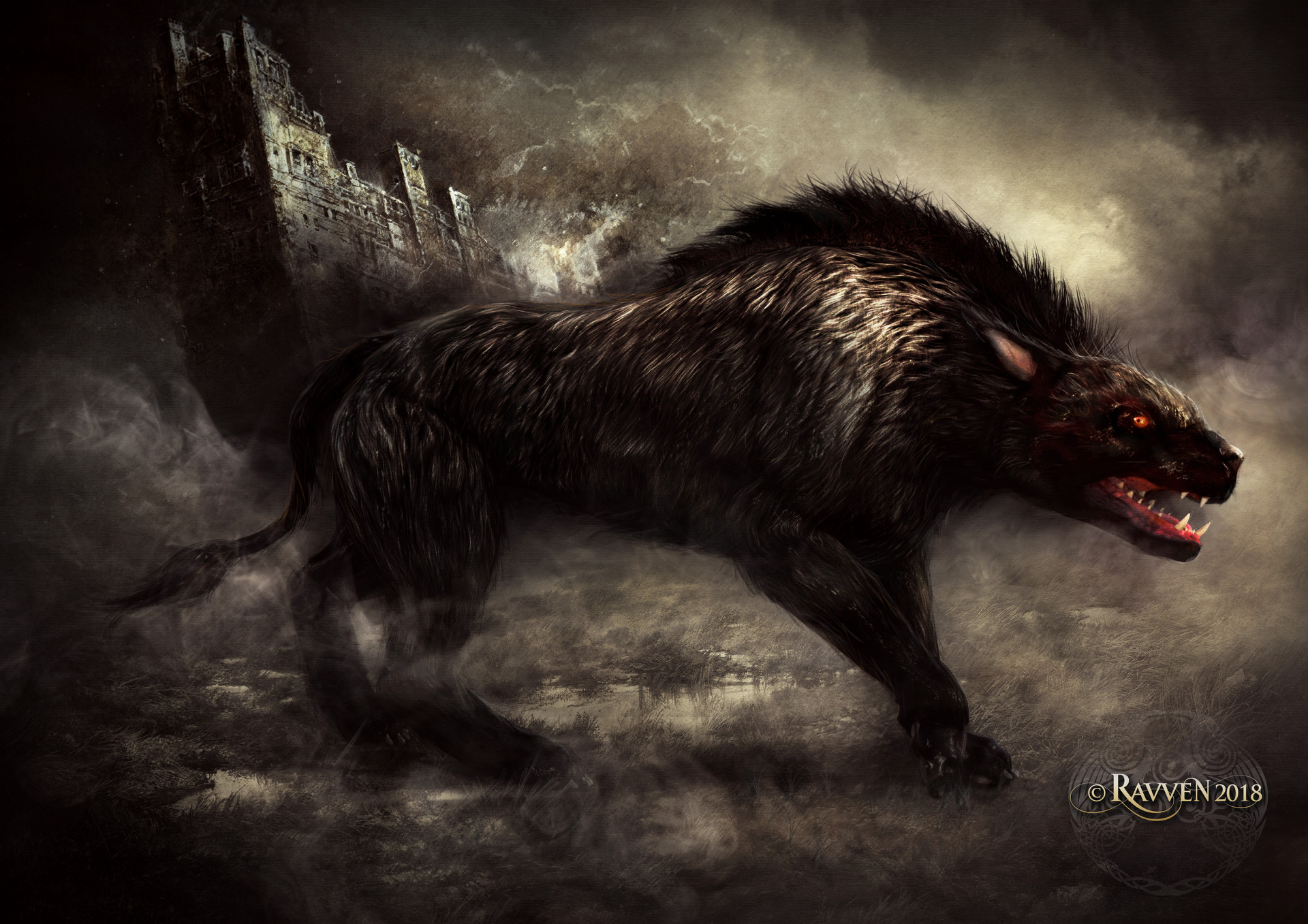 Ravven dhu hellhound