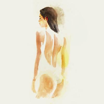 Milush manimendra larinascente watercolor