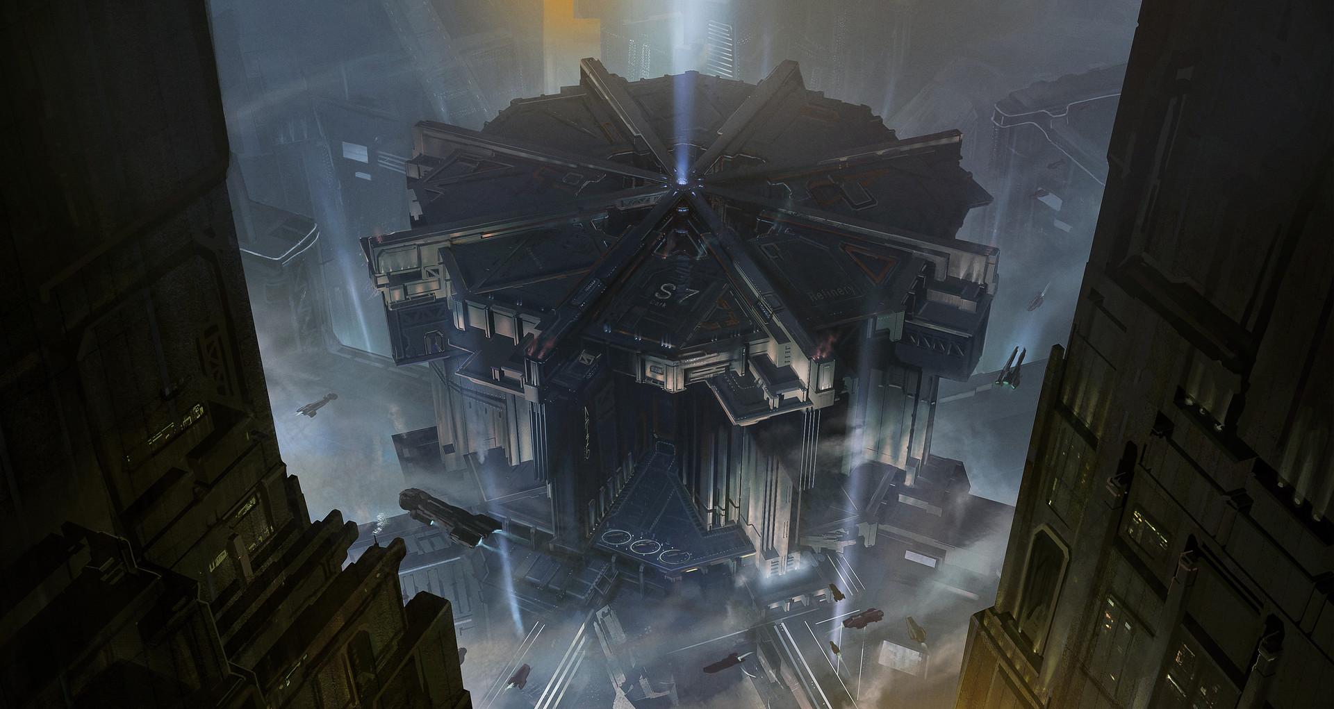 Kevin jick sci fi city kitbash01a