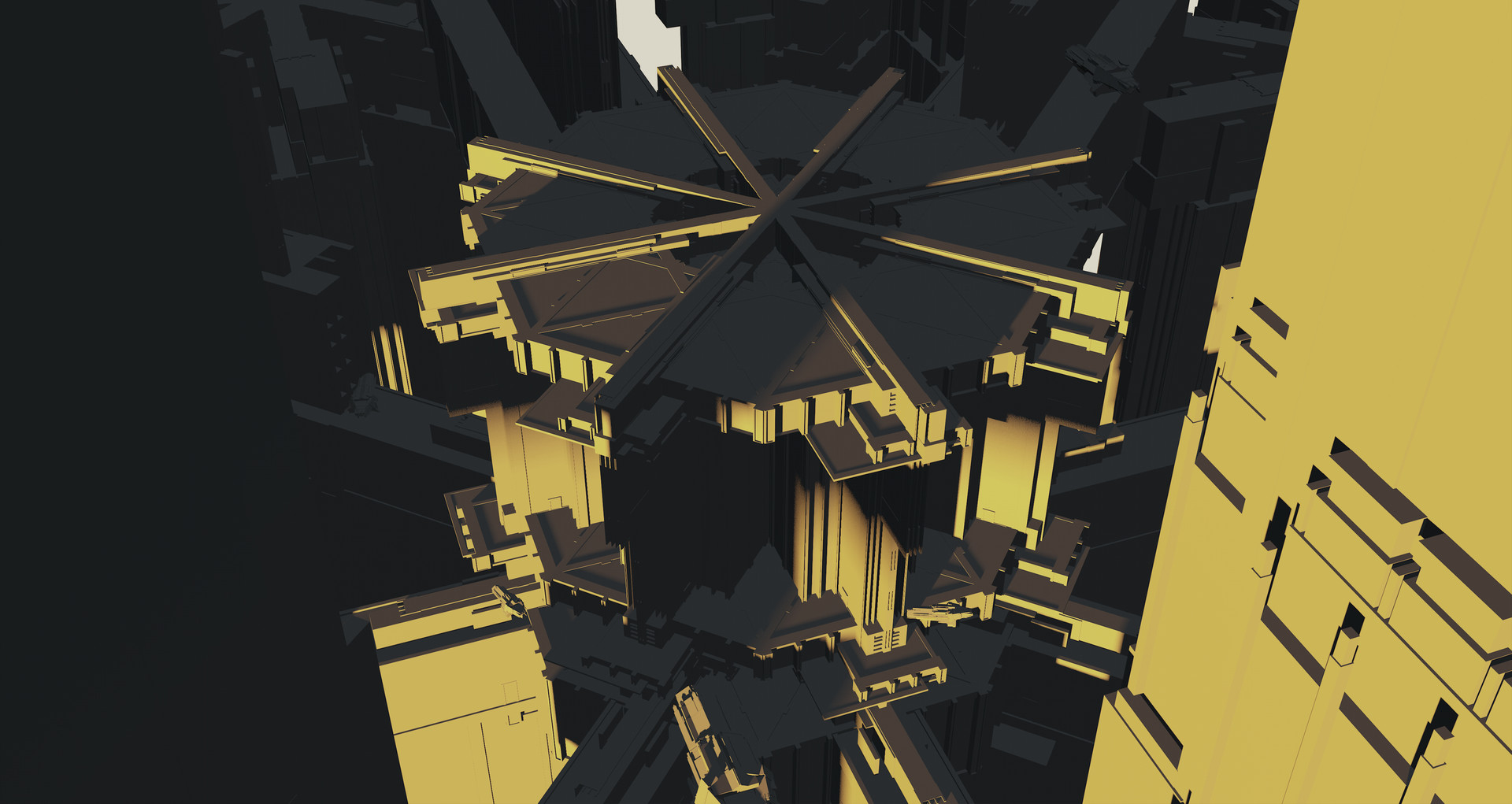 Kevin jick sci fi city kitbash01