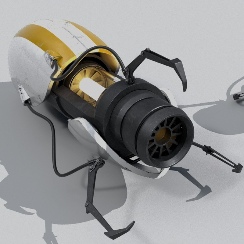Portal Gun; Portal 2 Fan Art