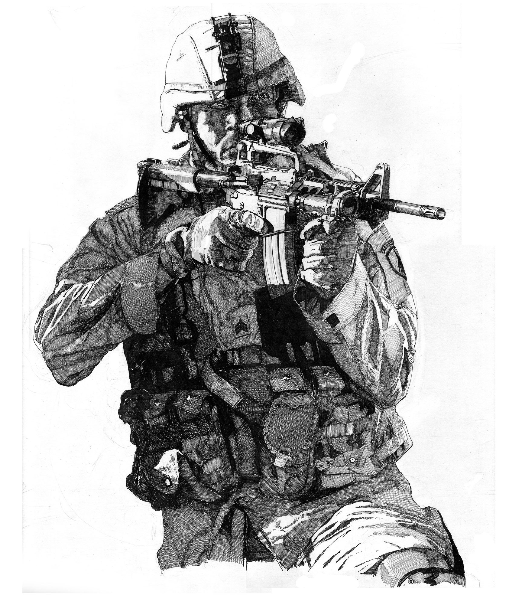 Mark maxwell soldier altogether inks