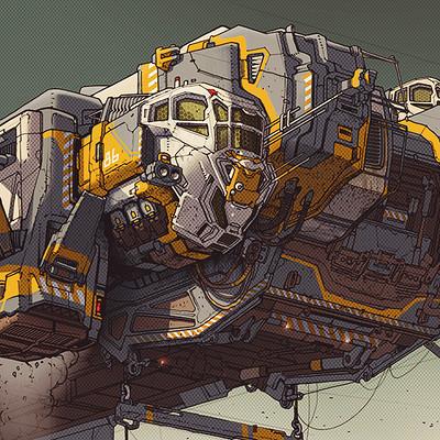 Ivan laliashvili heavy lift cargo vehicle