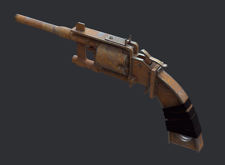 Ste flack fallout pipe revolver 01