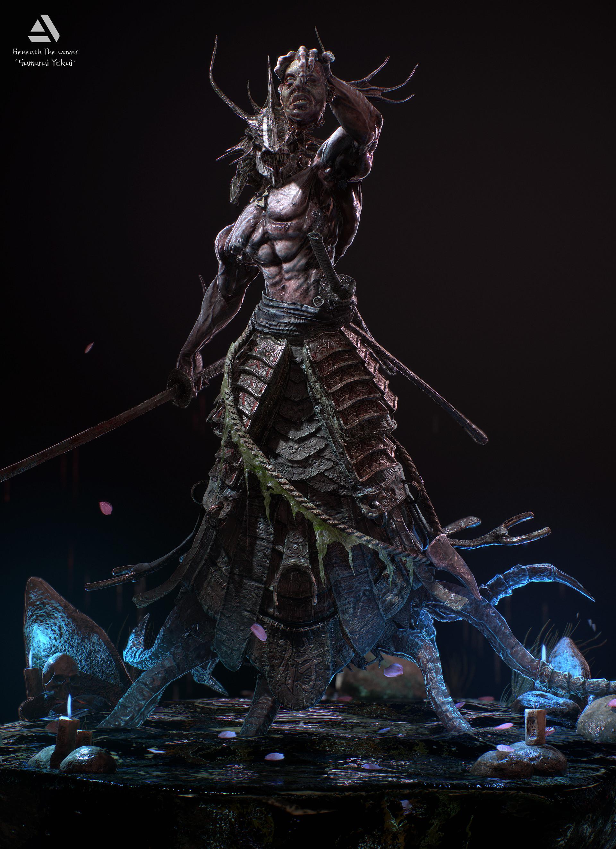 Juras rodionovas samurai yokai 01