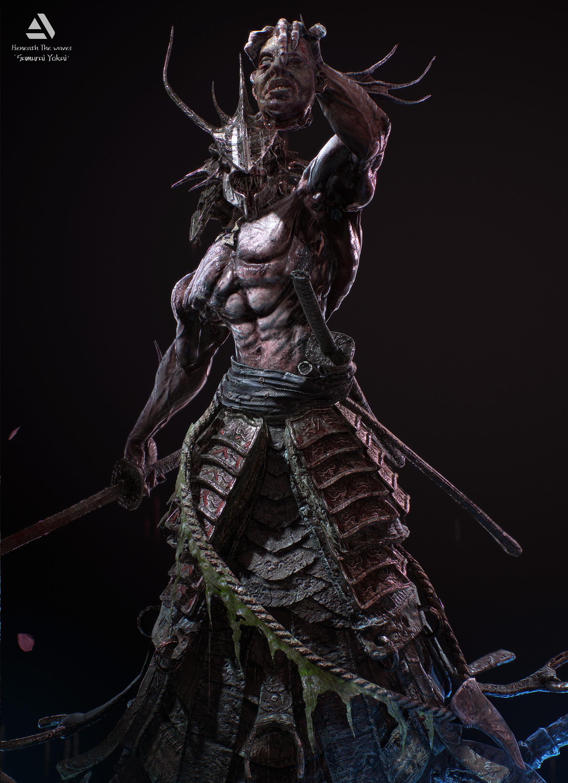 Juras rodionovas samurai yokai 03