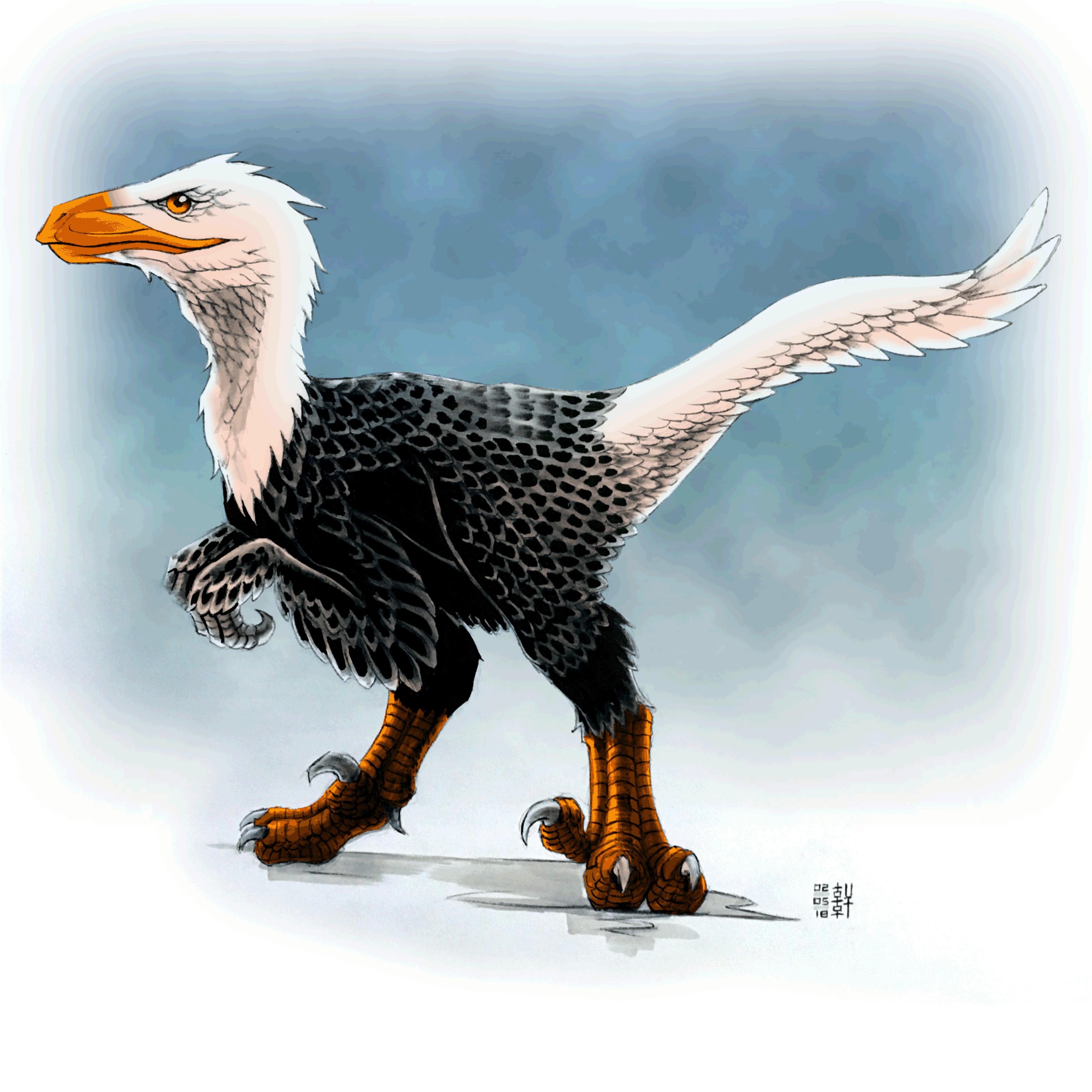 Day #15,138 - Feathered Utahraptor