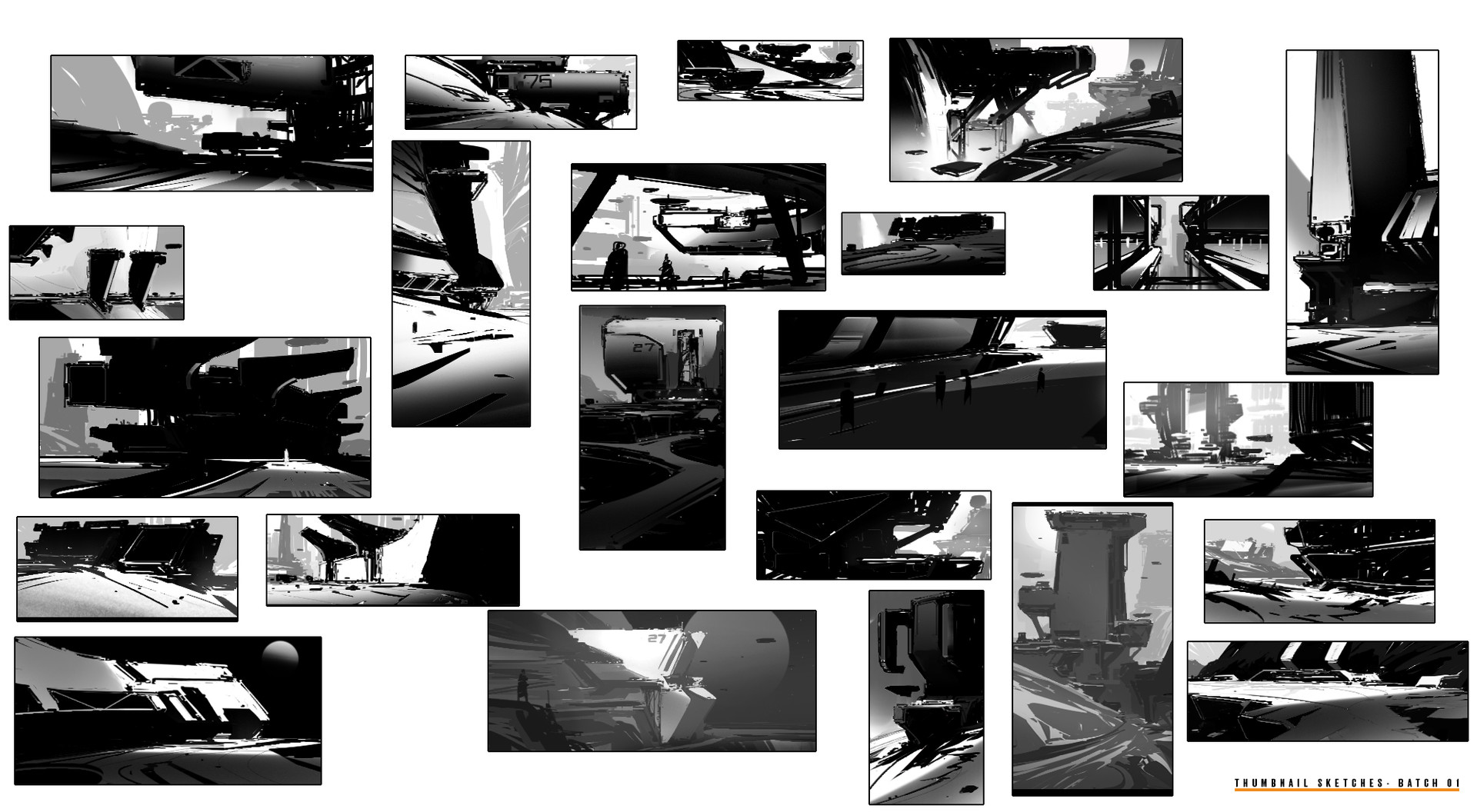 Thumbnail Exploration Batch 01