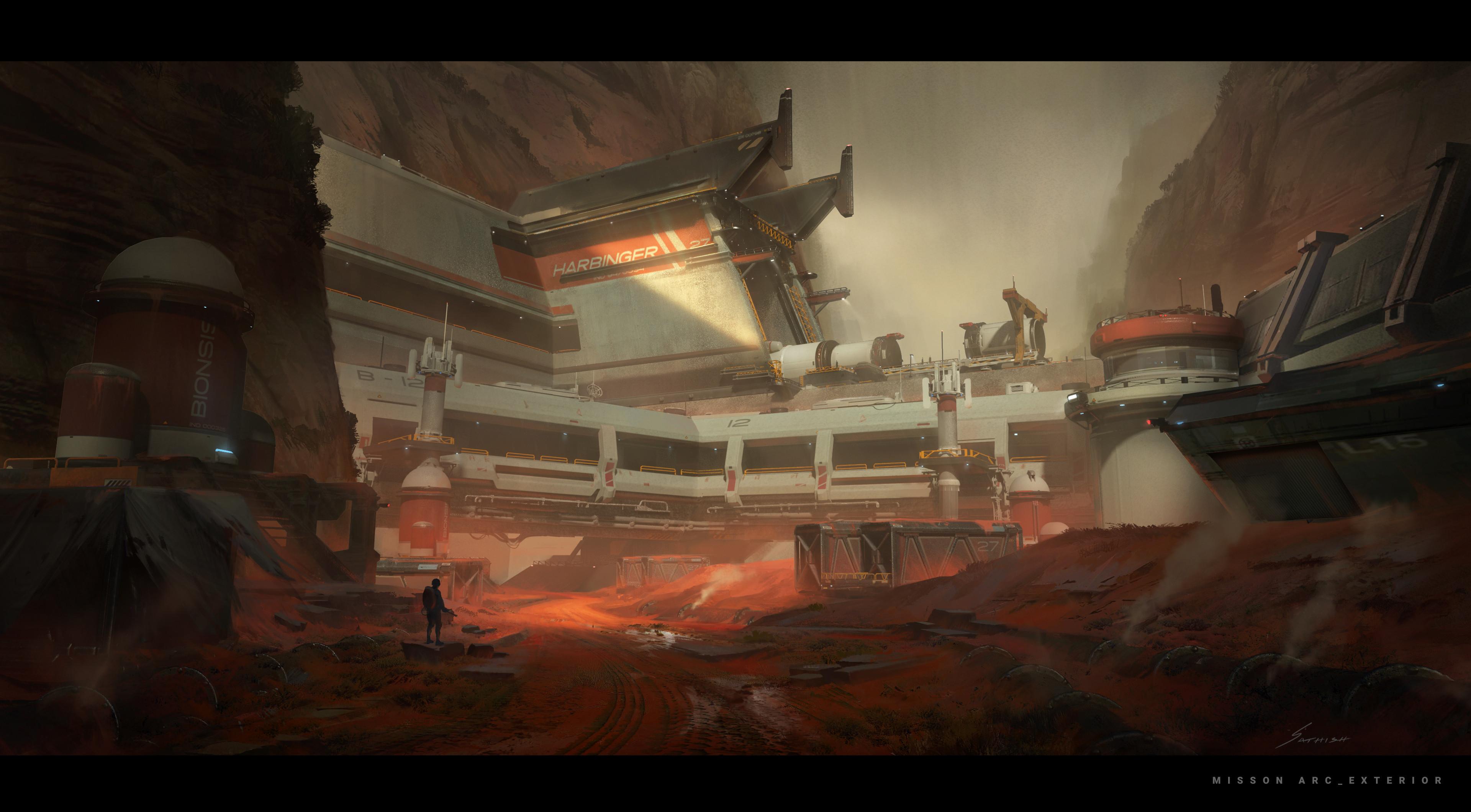 Mission Arc_Exterior Environment