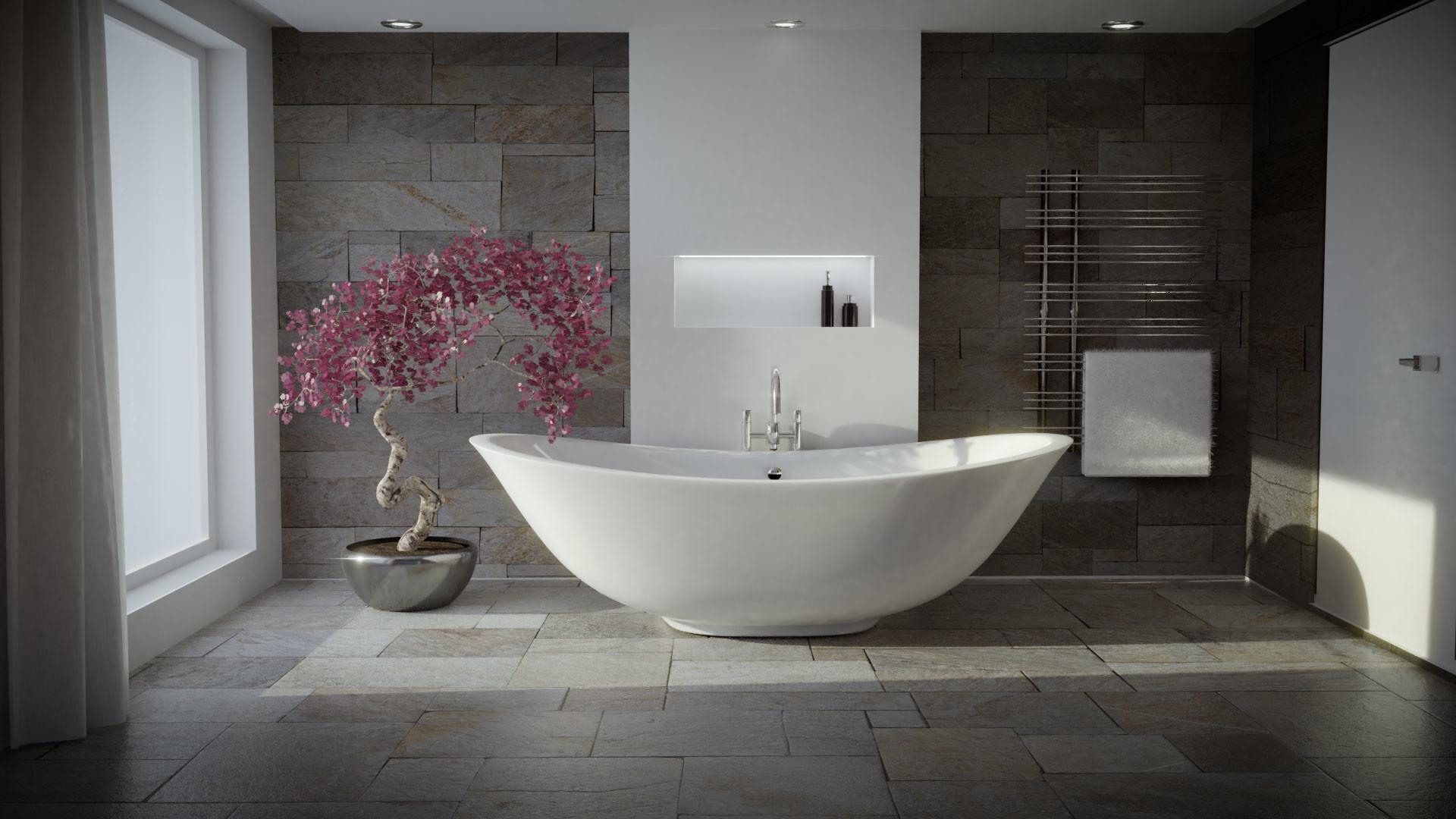 Artstation Zen Bathroom Rolf Ottosen
