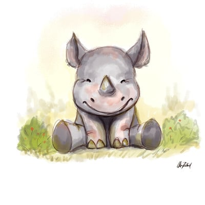 Okan bulbul baby rhino01