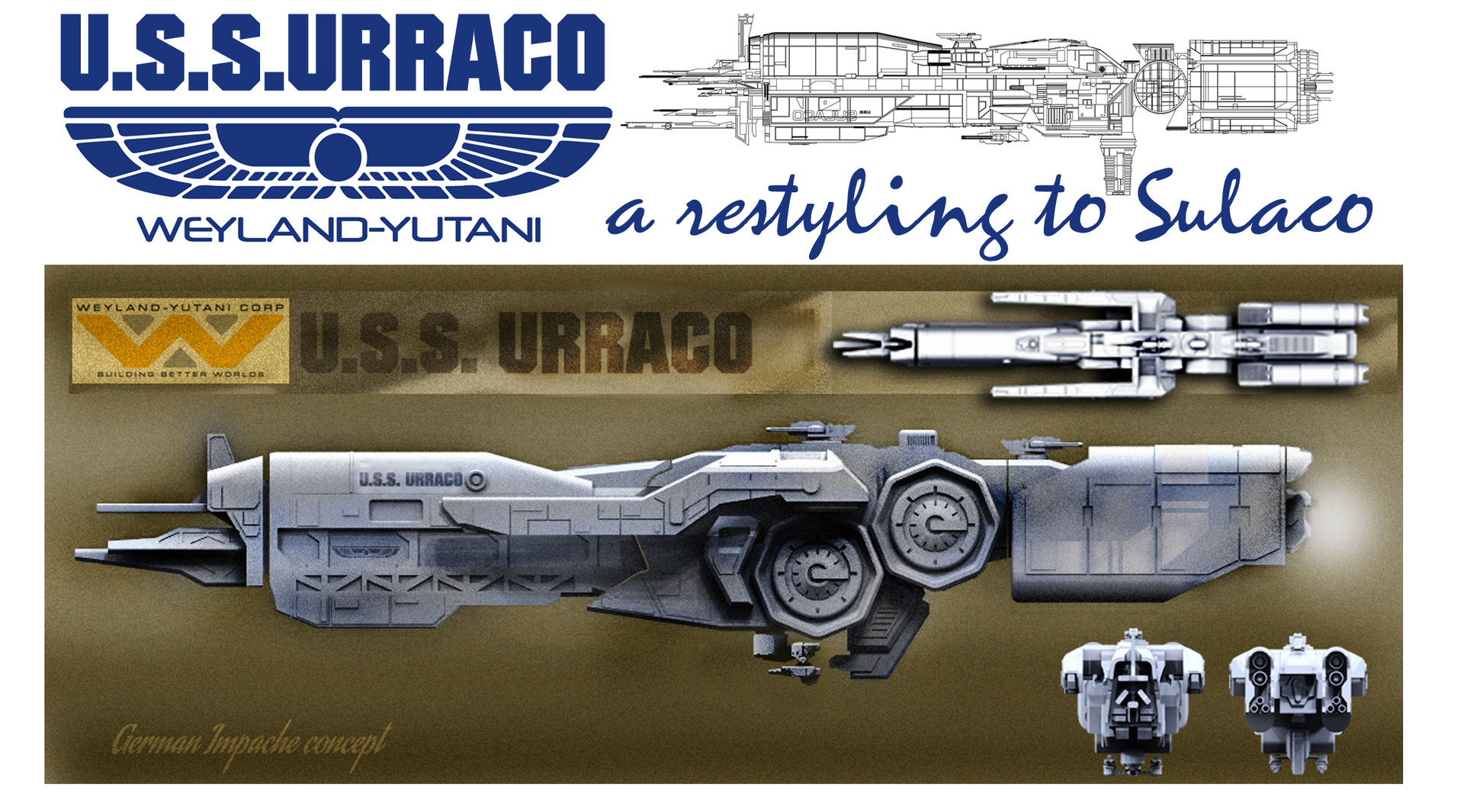 German impache rest sulaco urraco