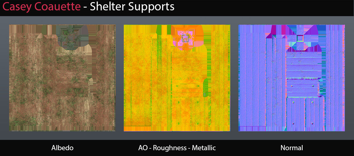 Shelter Supports Textures