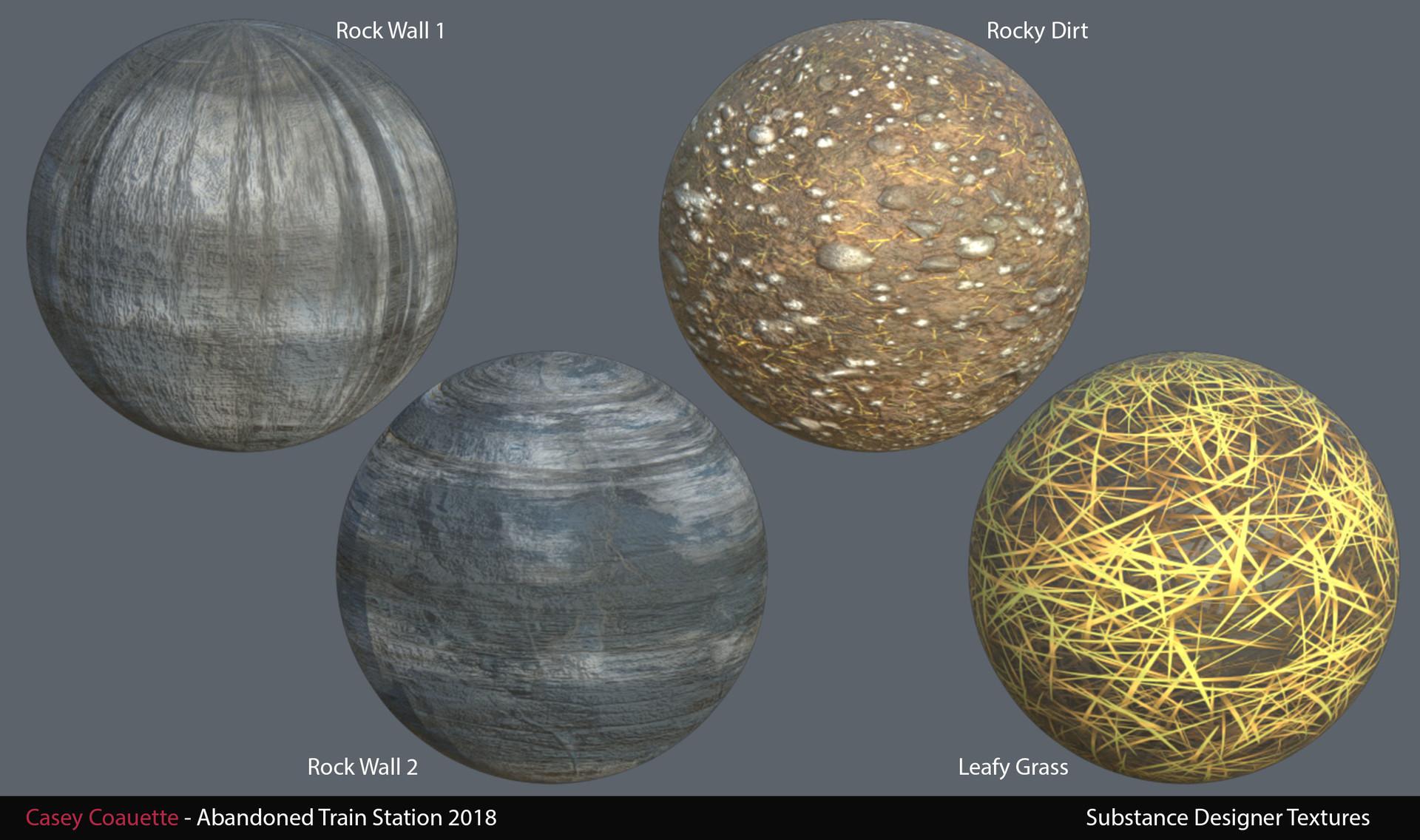 Landscape Substance Materials