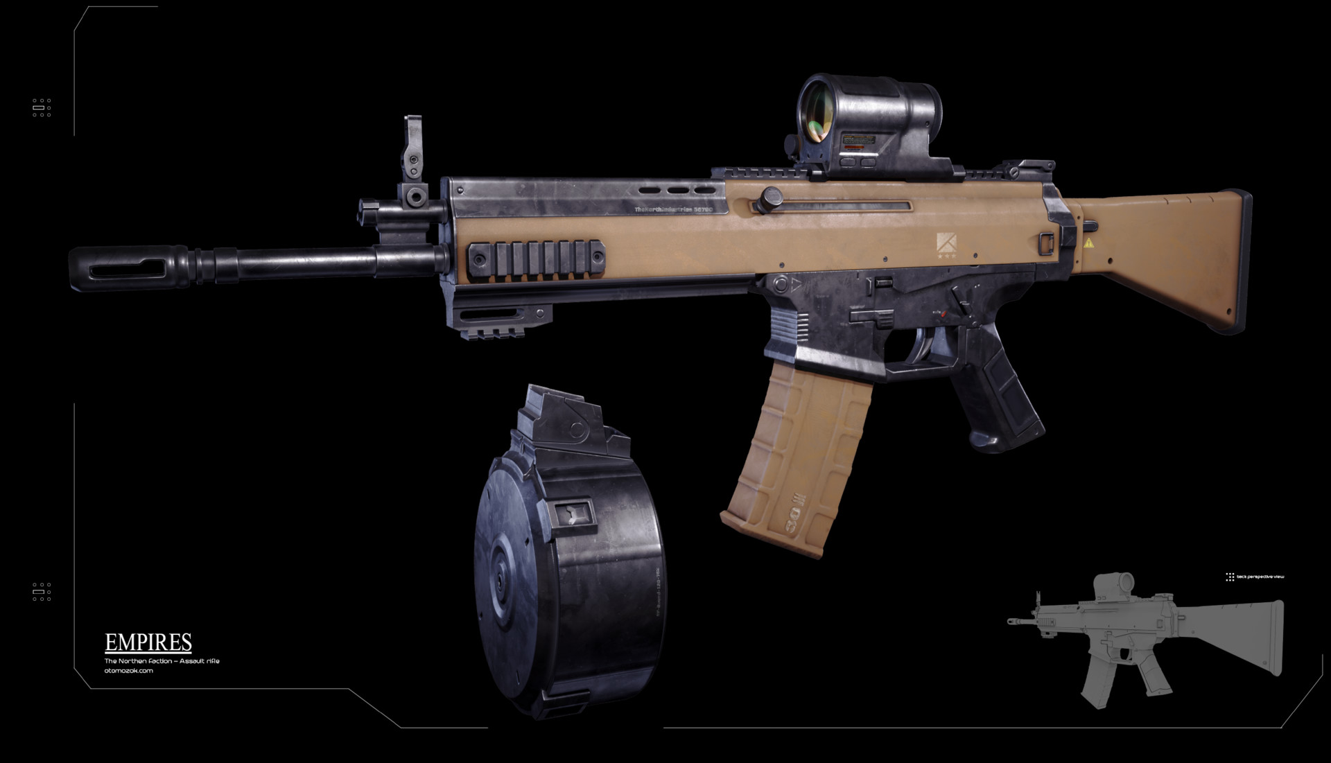Arthur gurin nfaction rifle