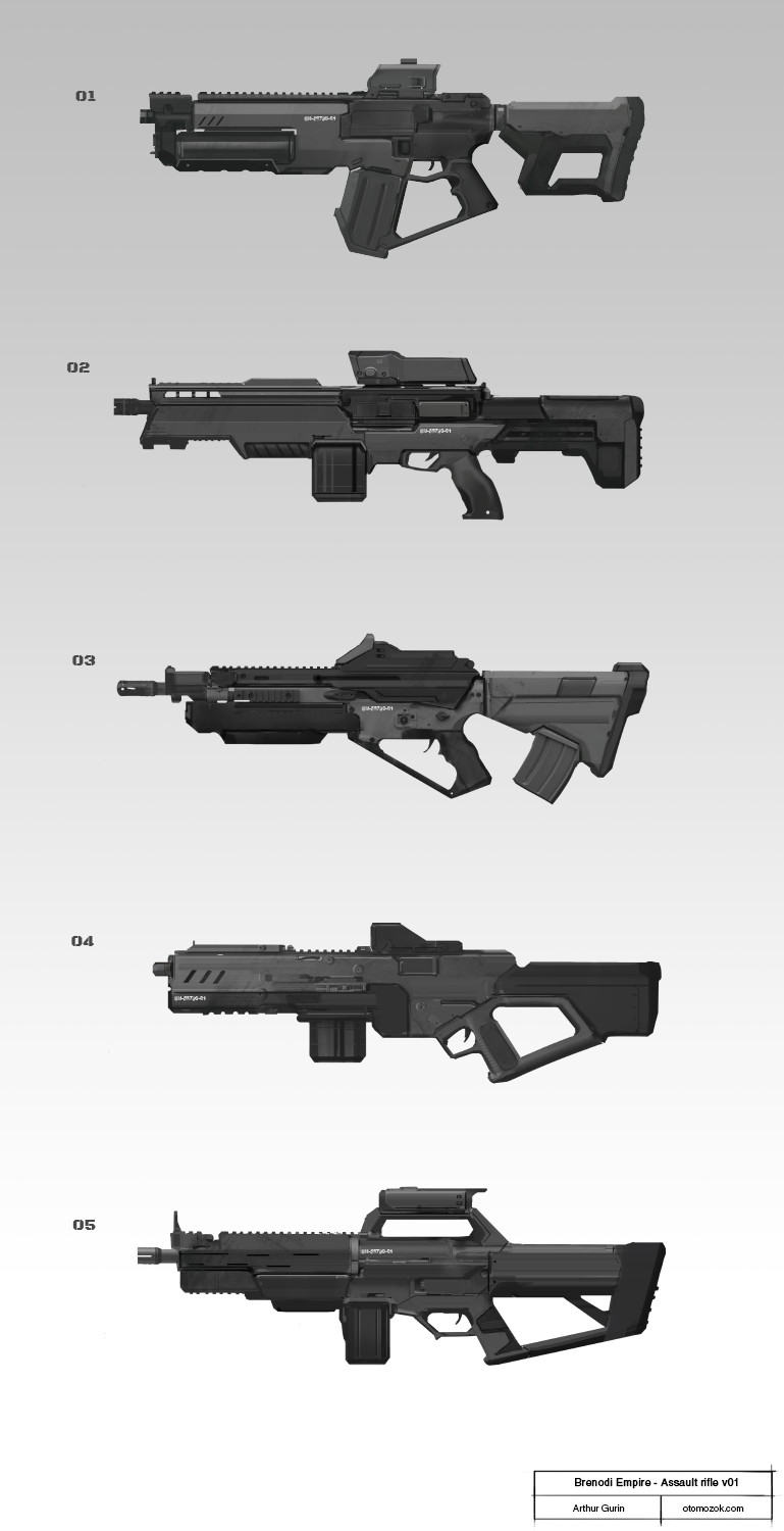 Arthur gurin be rifle sketches