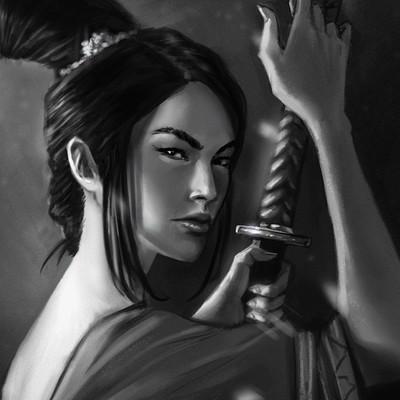 Mayara sampaio samurai gueixa portrait4
