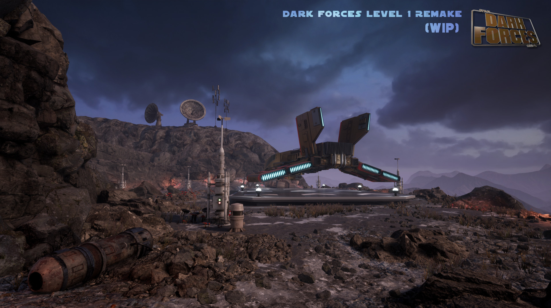 ArtStation - Dark Forces Remake - Phase 4, Jason Lewis