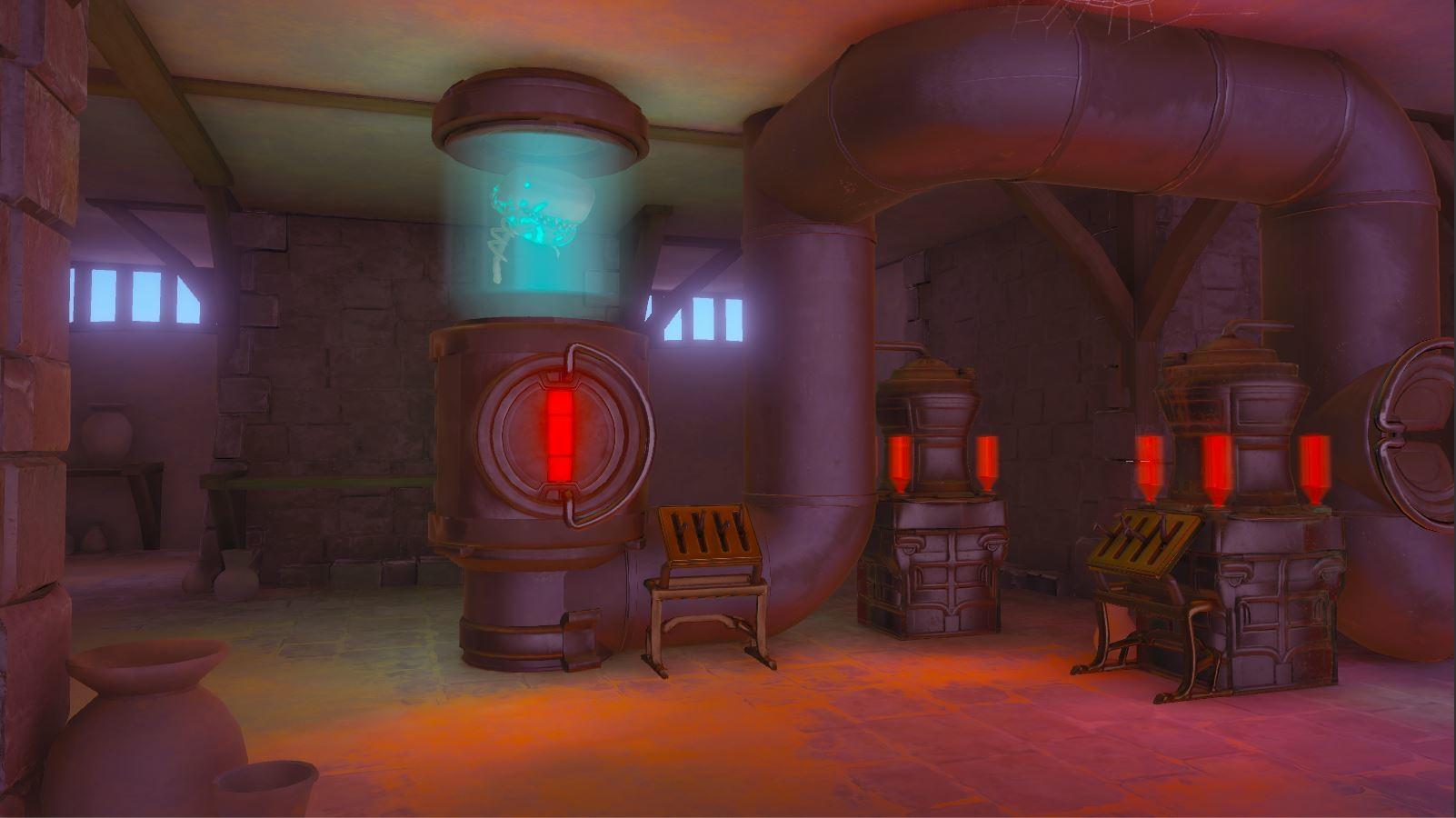 Philip hogg castle cellar02