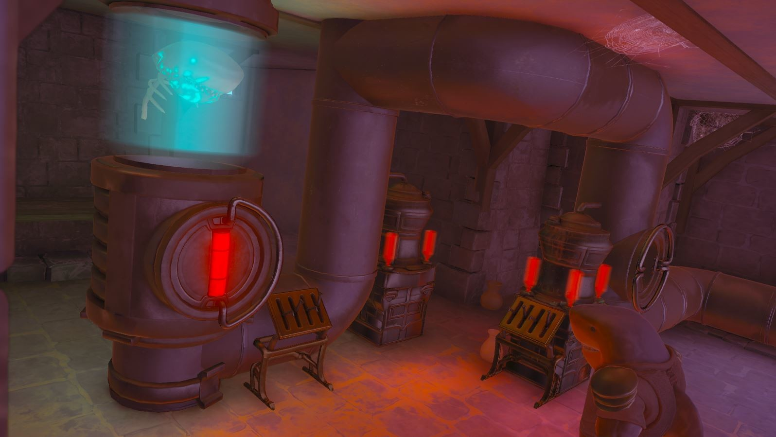 Philip hogg castle cellar01