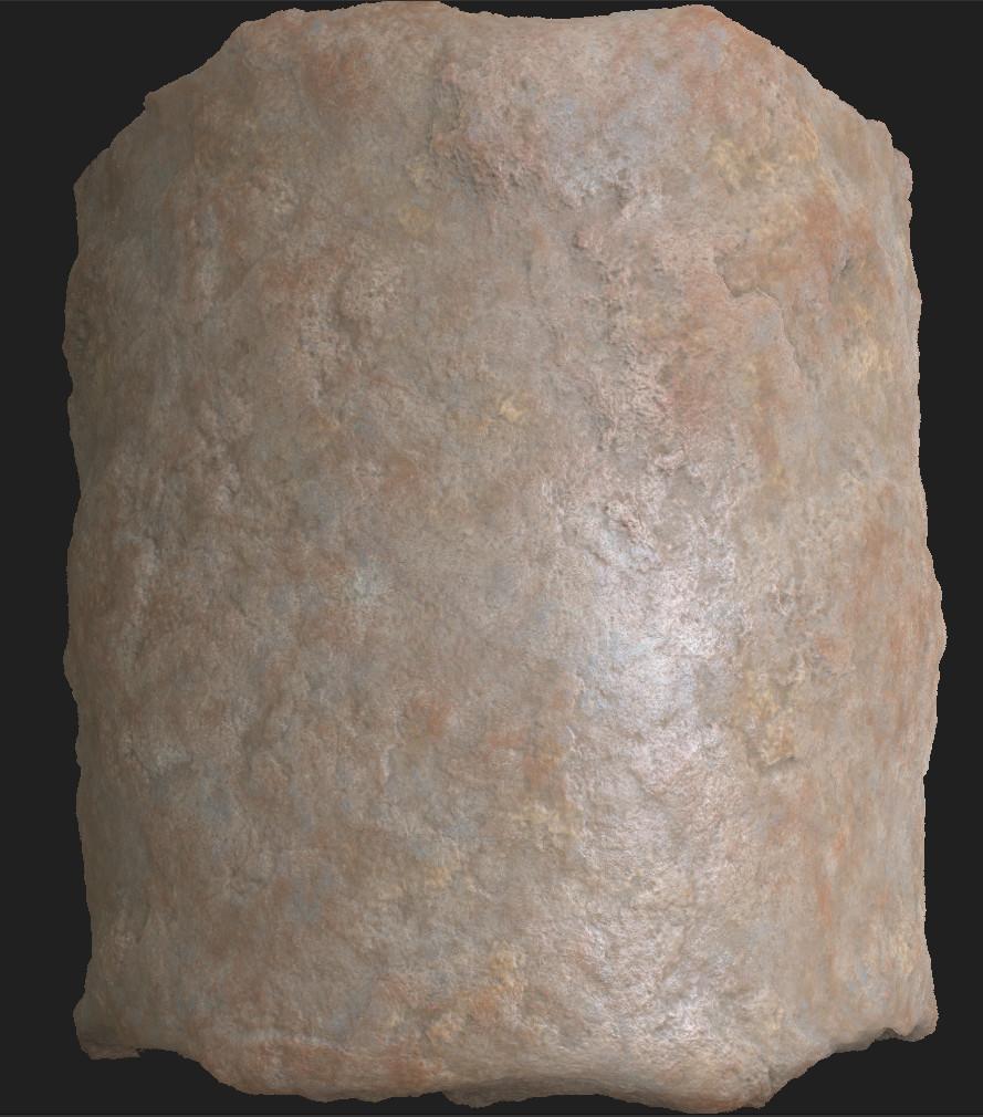 Maxim fortin stone cylinder