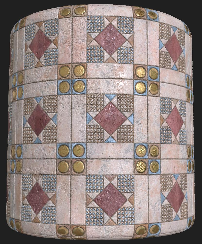 Medieval tiles - 1