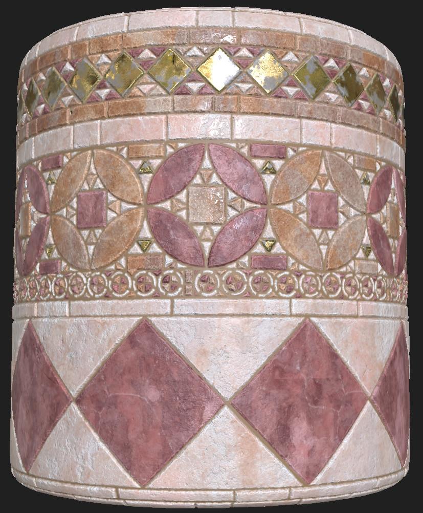 Medieval tiles - 2
