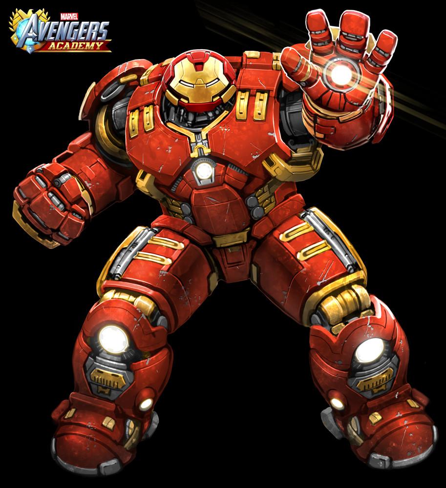 Hulkbuster detail.