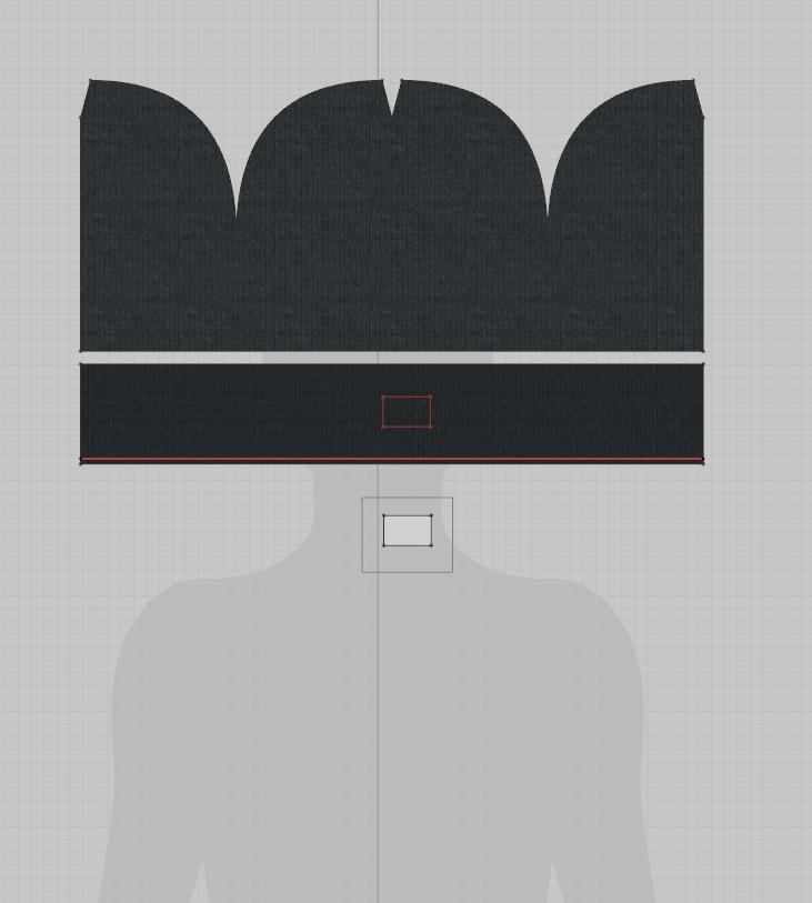 Beanie Sewing Pattern - Marvelous Designer 7