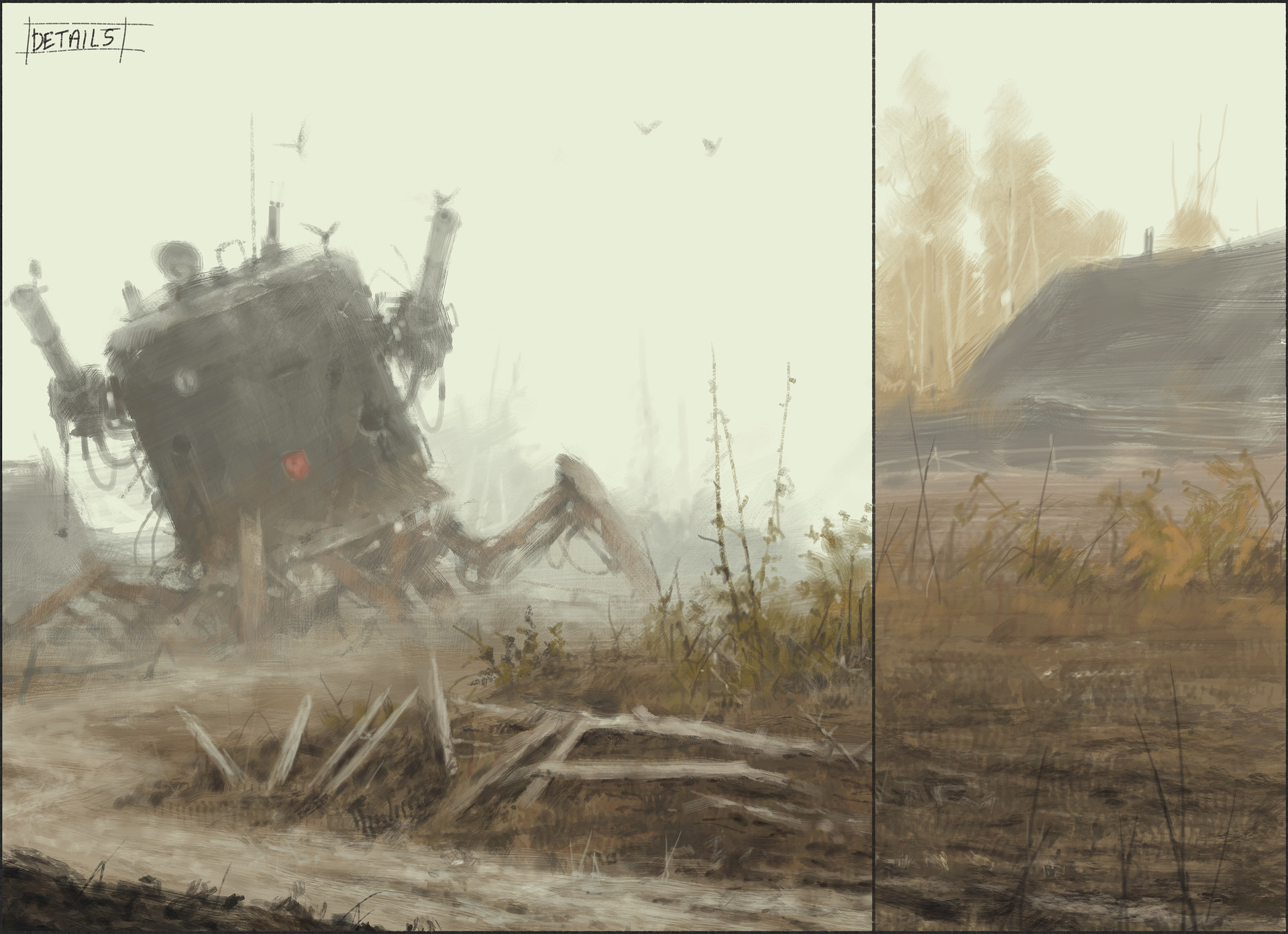 Jakub rozalski pride of glory process4