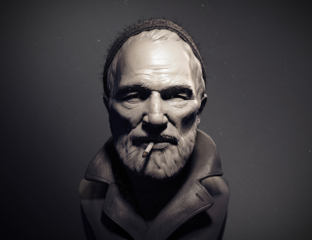 Omar chaouch bust sculpt omar chaouch 01