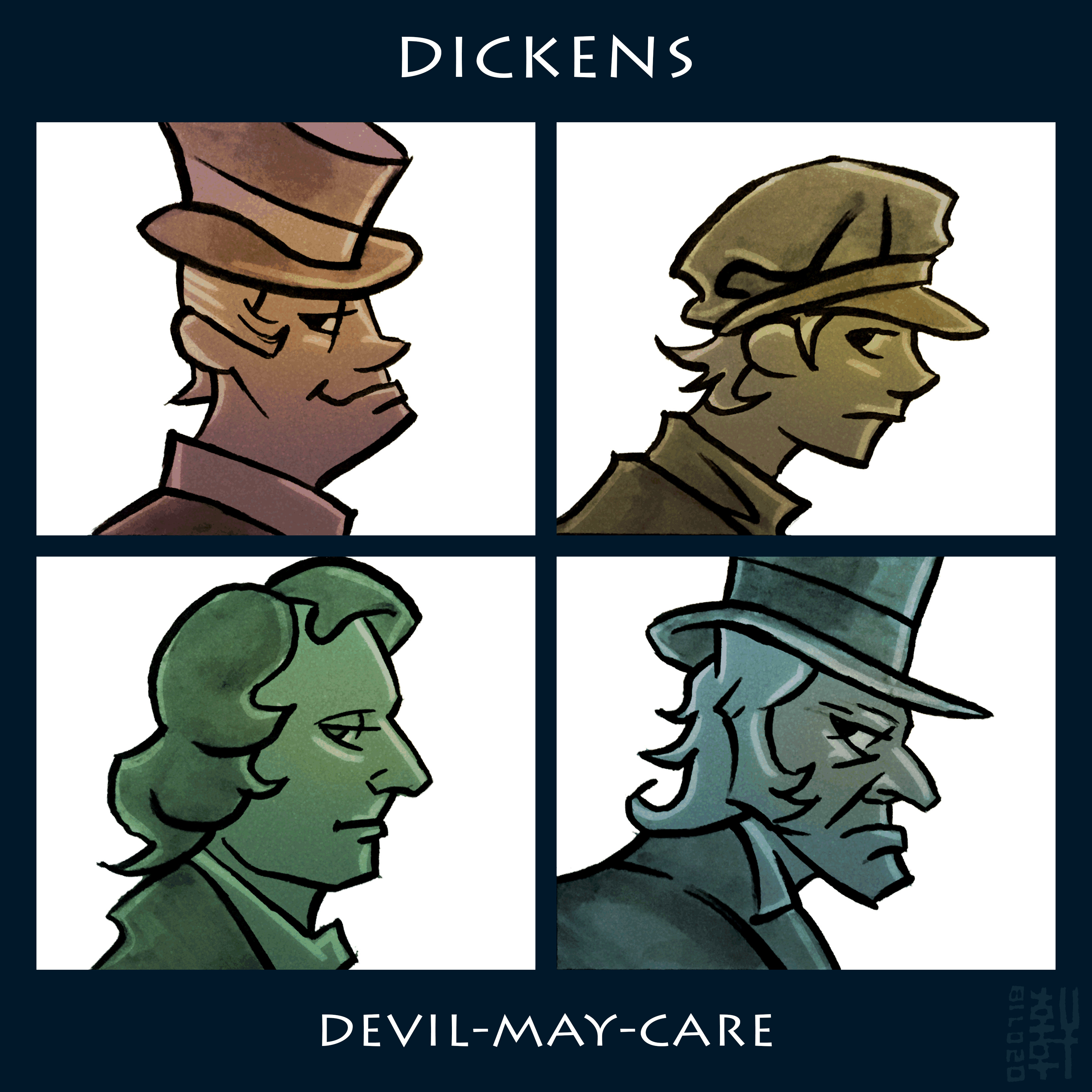 Day #15,140 - Dickens - Devil-May-Care