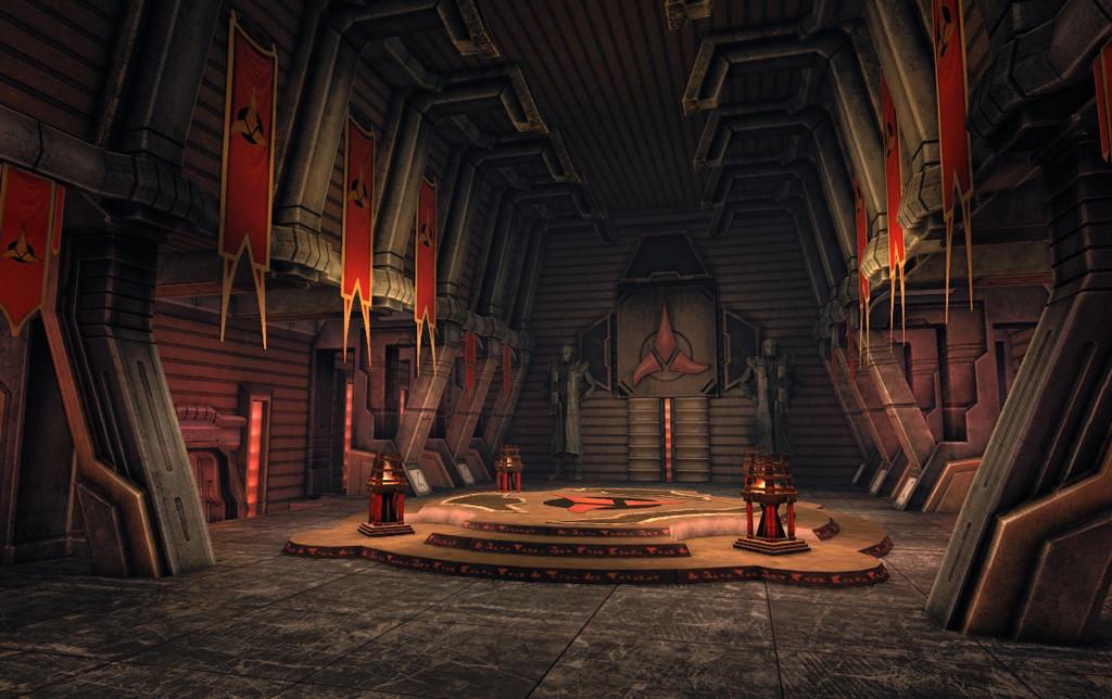 Klingon interior kit