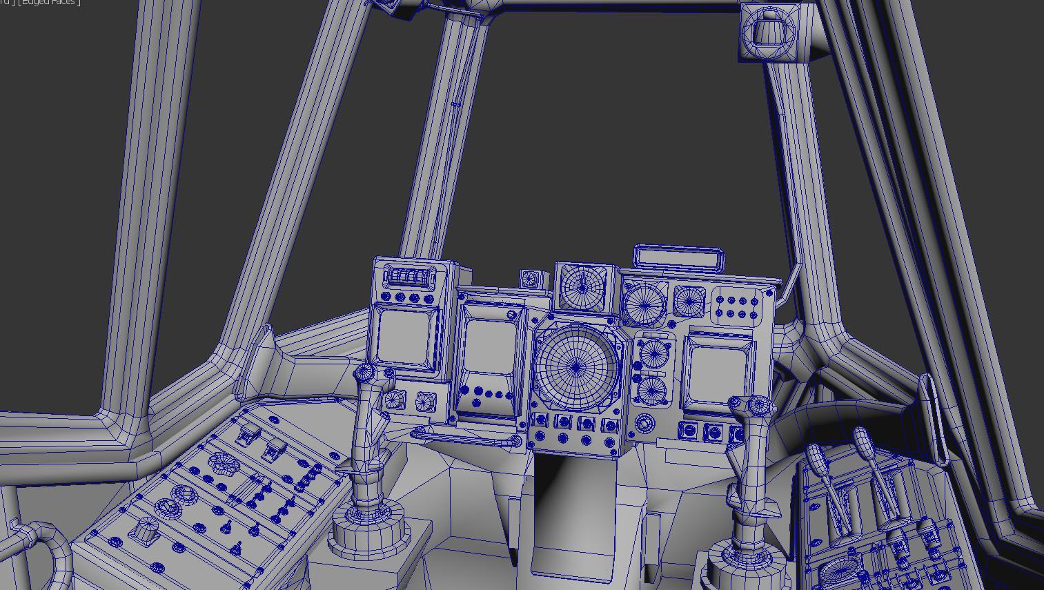 Mech Cockpit Wire