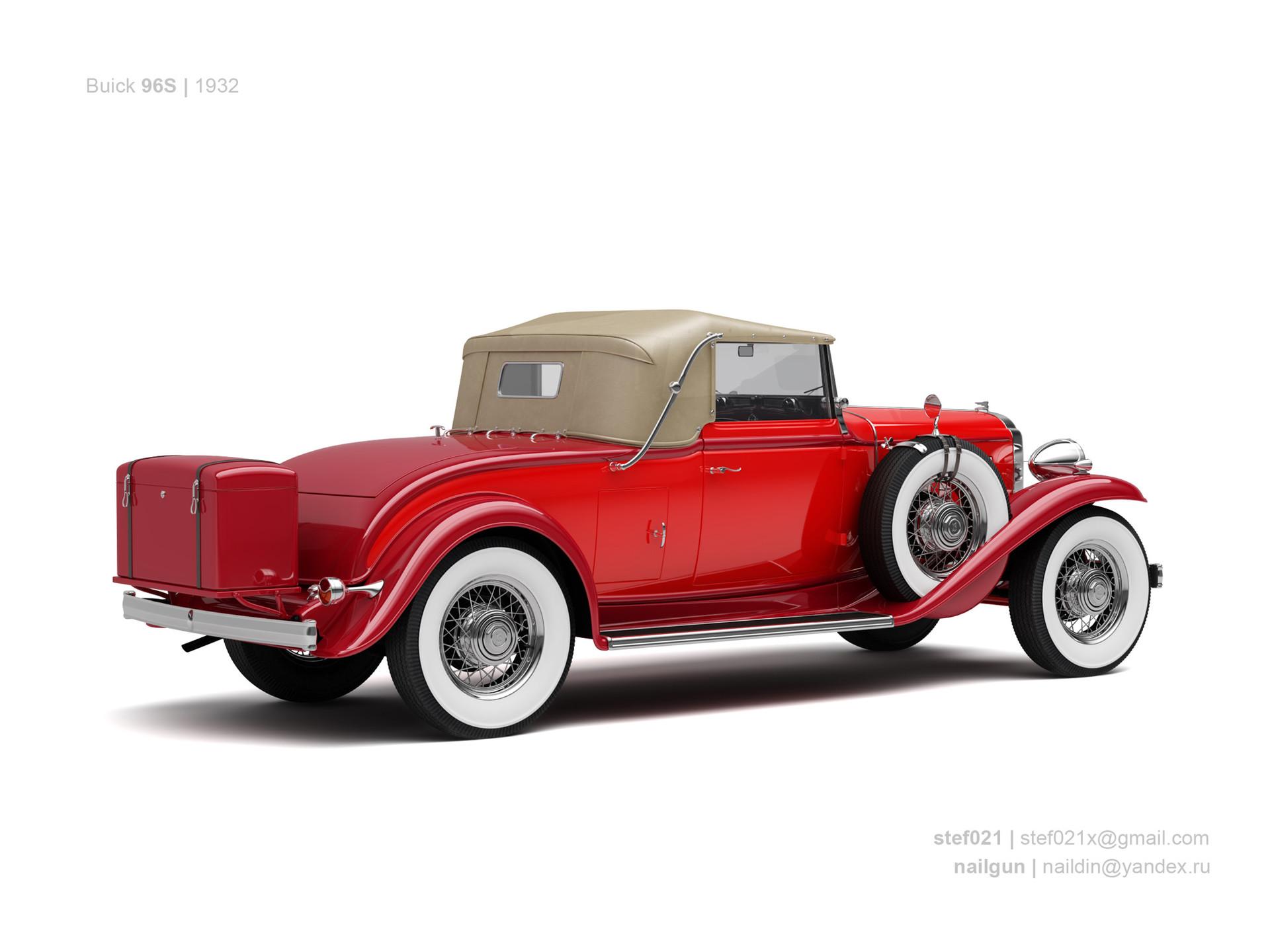 Nail khusnutdinov usa buick 69s 1932 1