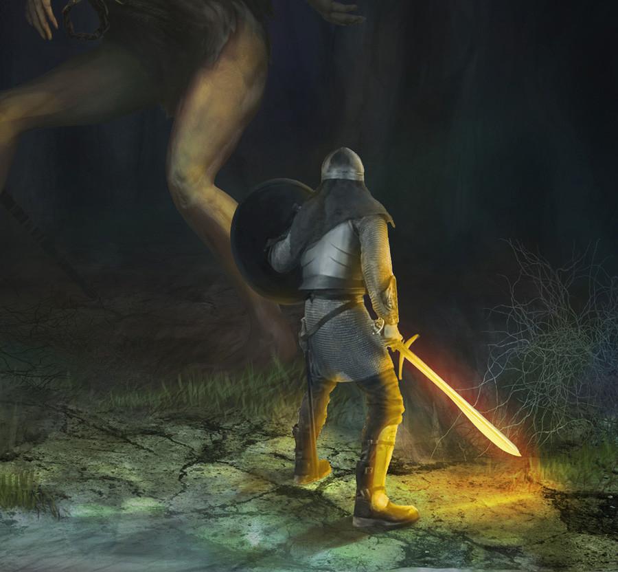 detail knight