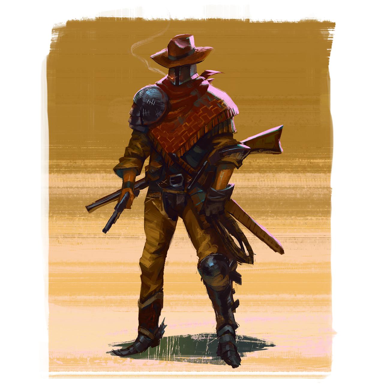 Mathieu chevalier cowboy 1