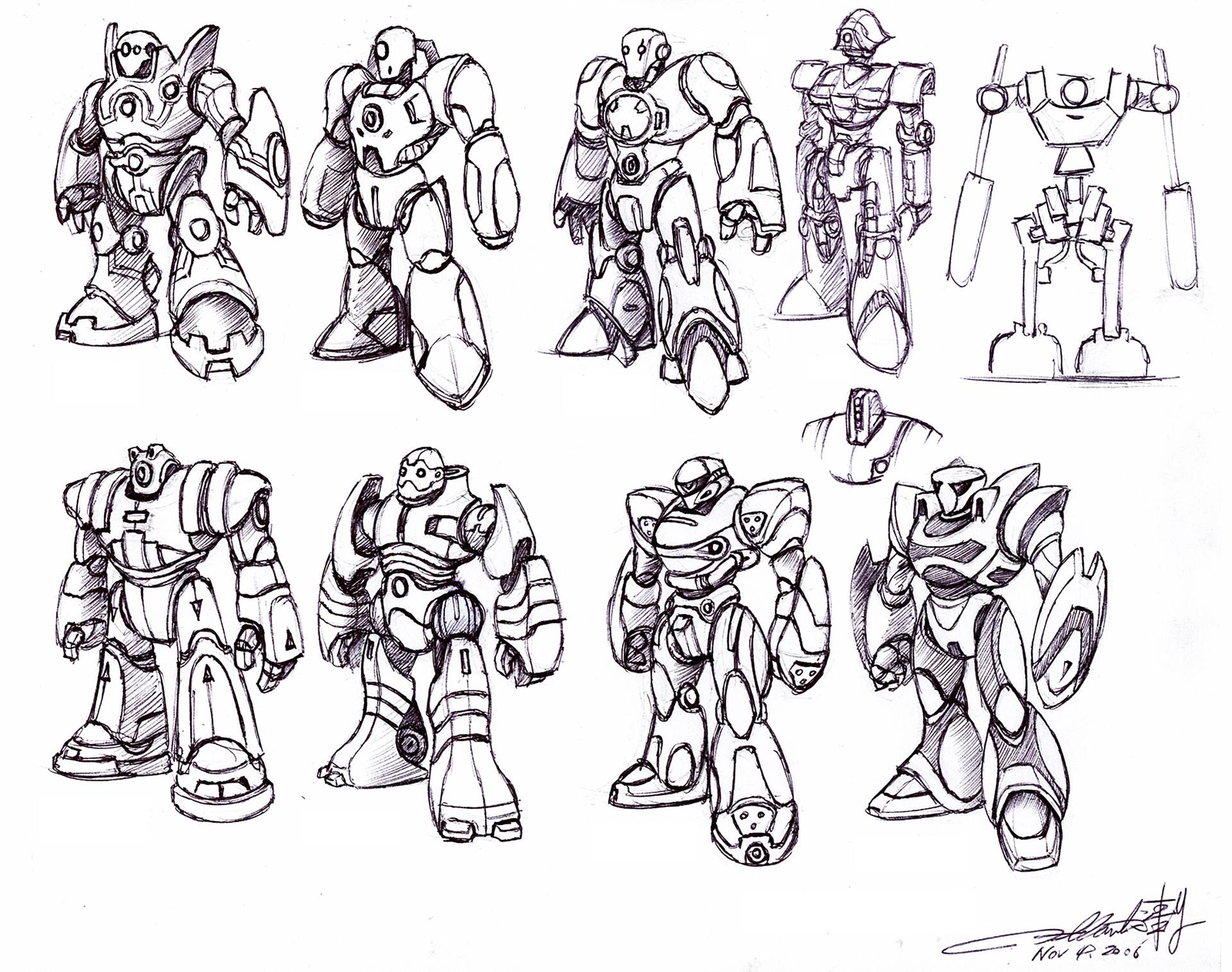 Humanoid Robotic Toy Concept I