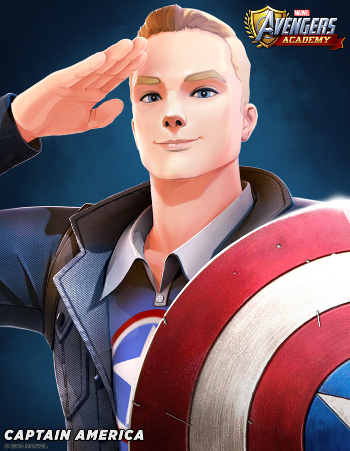 Captain America detail
