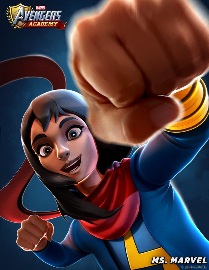 Ms Marvel detail
