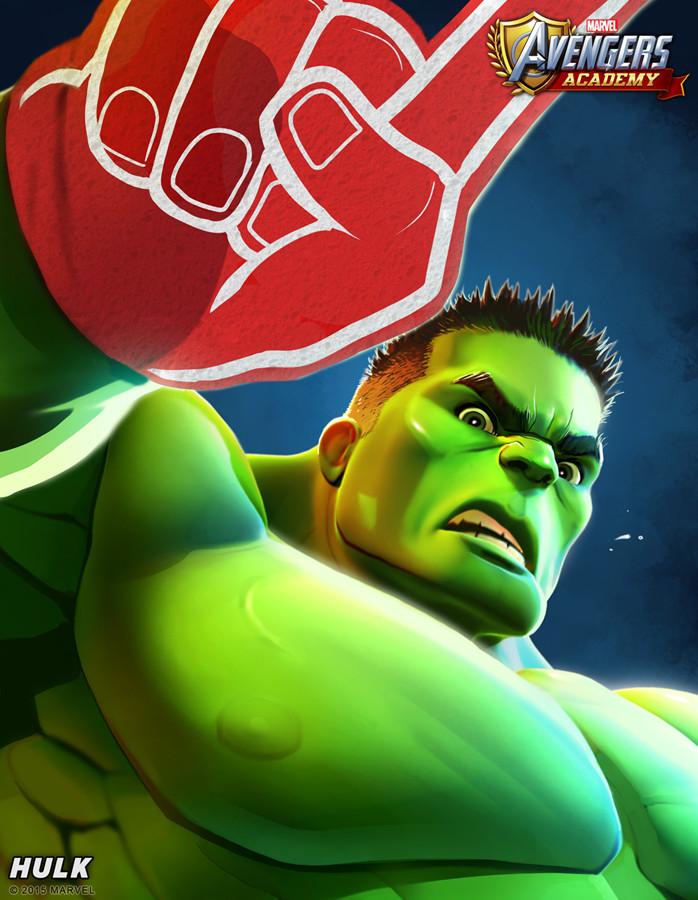 Hulk detail