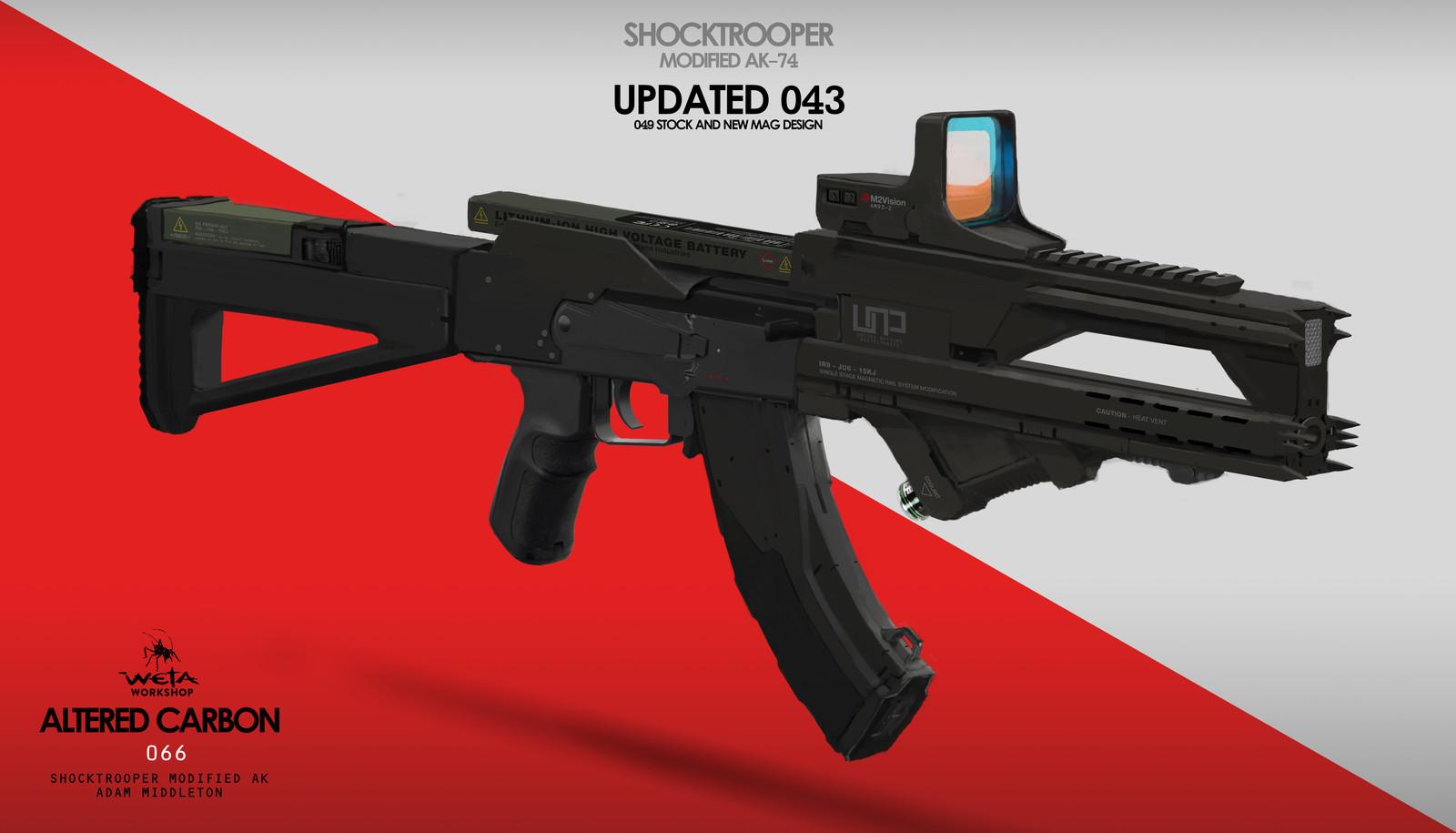 Shock Trooper Modified AK-47