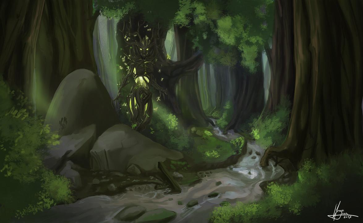 Efrain sosa spriggan del bosque 01