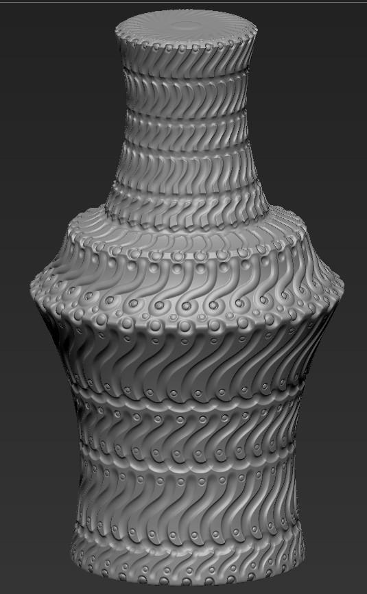 Cynicat pro zbrush vase