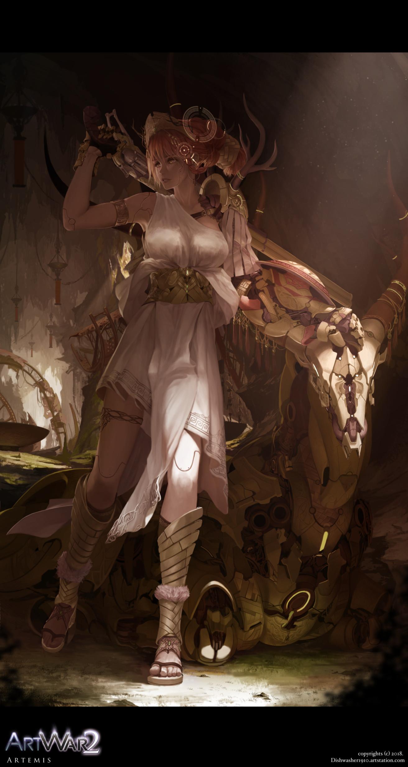 ArtStation - ARTWAR 2: Artemis , Bach Do
