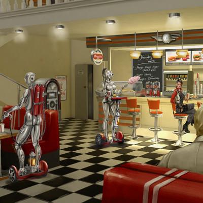 Anna khudorenko 21180120 diner illustration 2560x1440